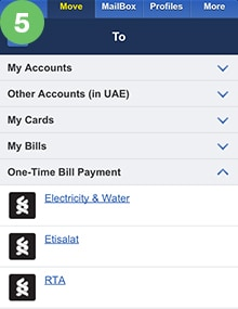 One-Time Bill Payment 5