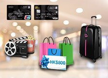 HK$800 voucher Welcome Offer