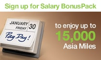 Salary BonusPack Welcome Offer