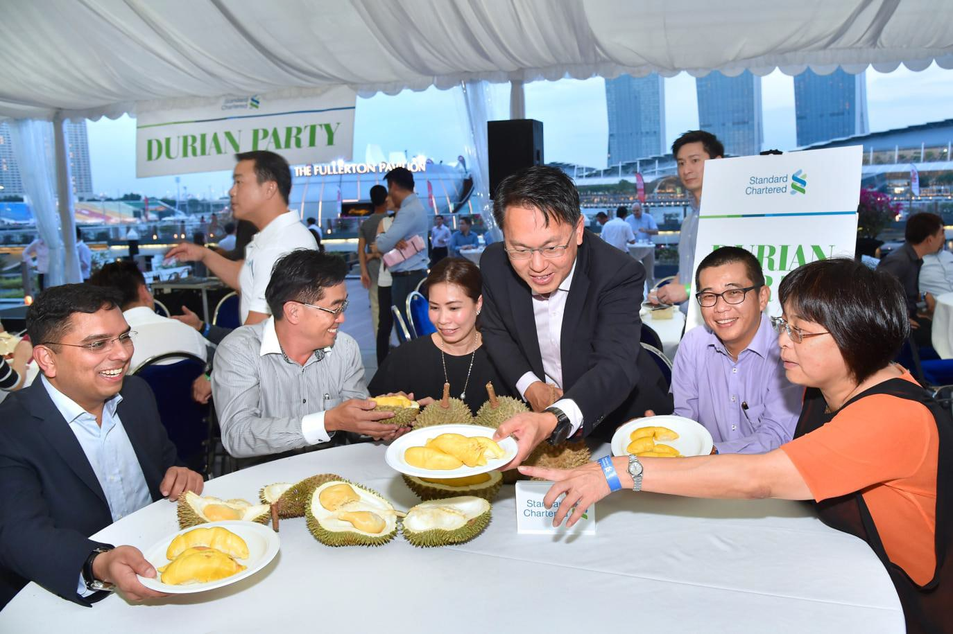 Client Relationships with Durian Feast